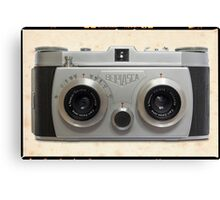 Belplasca Stereo Camera Canvas Print
