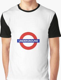 London Underground Tube Station  Graphic T-Shirt