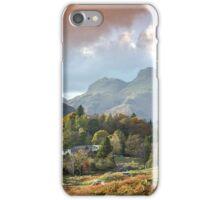Autumn Elterwater Trees iPhone Case/Skin