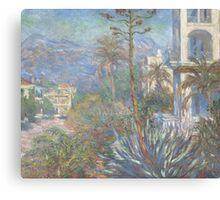 Claude Monet - Villas at Bordighera (1884) Canvas Print