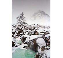 Frozen Falls Photographic Print