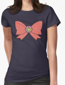 Sailor ribbon - power of moon Womens Fitted T-Shirt