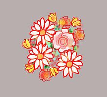 BONNY FLOWERS GRAPHIC  COLLECTION  by Shoshonan