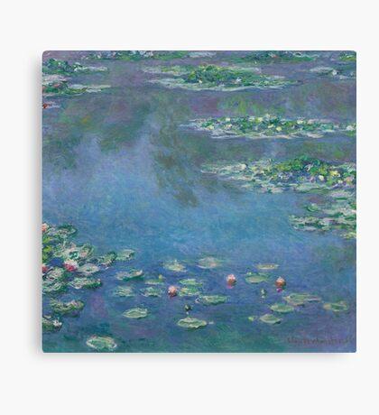 Claude Monet - Water Lilies (1906)  Impressionism Canvas Print