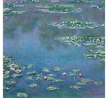 Claude Monet - Water Lilies (1906)  Impressionism Photographic Print