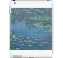 Claude Monet - Water Lilies (1906)  Impressionism iPad Case/Skin