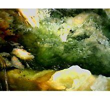 Cave Pool (Plasma Agate) Photographic Print
