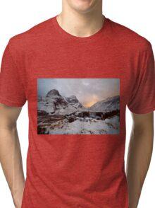 Snowy Sisters Tri-blend T-Shirt