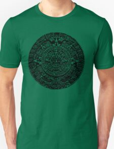 Mexican Mayan Calender the Aztec Sun Stone Unisex T-Shirt