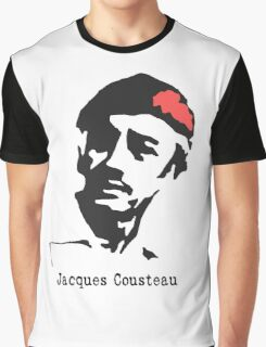 Jacques Cousteau  Graphic T-Shirt