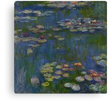 Claude Monet - Water Lilies (1916)  Impressionism Canvas Print