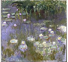 Claude Monet - Water Lilies (1922) Photographic Print
