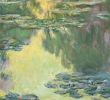 Claude Monet - Waterlilies (1907) by famousartworks