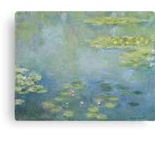 Claude Monet - Waterlilies. Impressionism Canvas Print