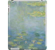 Claude Monet - Waterlilies. Impressionism iPad Case/Skin