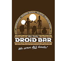 Droid Bar Photographic Print