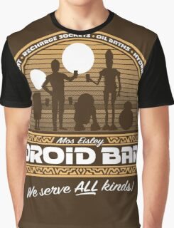 Droid Bar Graphic T-Shirt