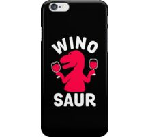 Wino Saur iPhone Case/Skin