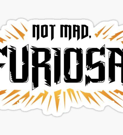 Not Mad Sticker