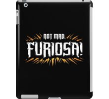 Not Mad iPad Case/Skin