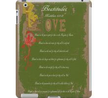 Beautitudes iPad Case/Skin