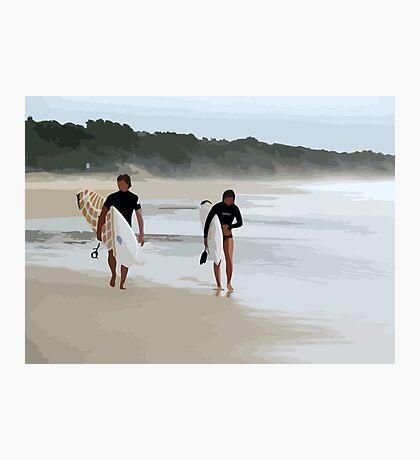 Surfer Love  Photographic Print