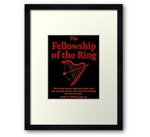 The Fellowship of The Ring Framed Print