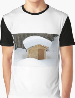 Snow on the roof Graphic T-Shirt