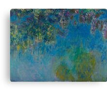 Claude Monet - Wisteria (circa 1925) Canvas Print