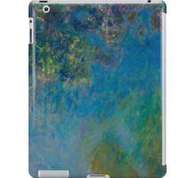 Claude Monet - Wisteria , Impressionism iPad Case/Skin