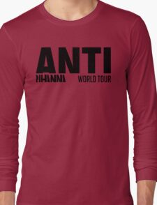 Rihanna - ANTI World Tour (Black) Long Sleeve T-Shirt