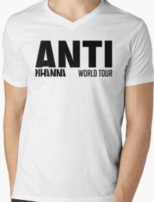 Rihanna - ANTI World Tour (Black) Mens V-Neck T-Shirt