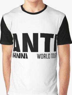 Rihanna - ANTI World Tour (Black) Graphic T-Shirt