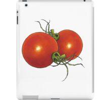 Two Tomatoes: Original Illustration: Food iPad Case/Skin