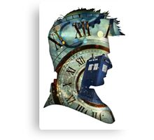 Doctor Who - Time spiral & Tennant Canvas Print