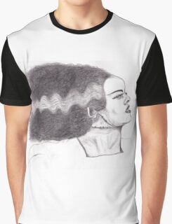 Bride of Frankenstein Graphic T-Shirt