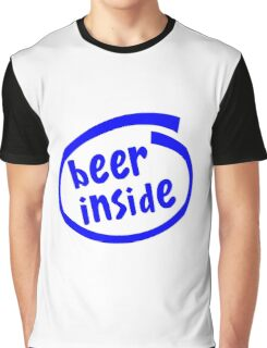 Funny Beer Drinking  Graphic T-Shirt