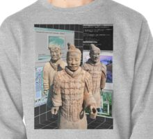Chinese Vaporwave Aesthetics Pullover