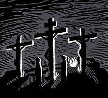 Kreuzigung - The Biggest Fight by Jens-Uwe Friedrich