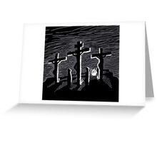 Kreuzigung - The Biggest Fight Greeting Card