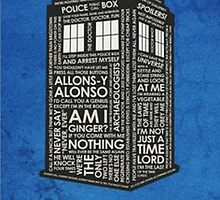 Dr. who tardis by moltres