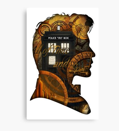 Doctor Who - TimeSpace & Smith Canvas Print