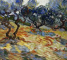 Vincent Van Gogh - Olive Trees by lifetree