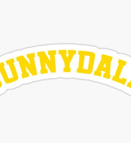 Sunnydale High School Tee Sticker