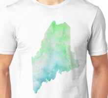 maine watercolor  Unisex T-Shirt