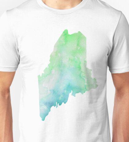 maine watercolor  Unisex T-Shirt
