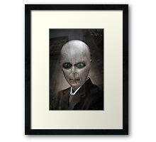 All Alien To Me Framed Print