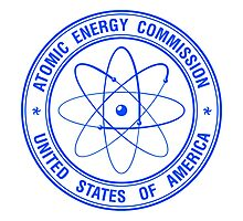 Atomic Energy Commission #3 (Blue) Photographic Print