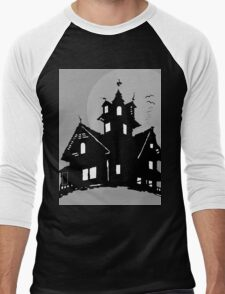 house with moon T-Shirt