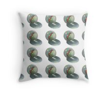 Marbles in a Pattern, Realism Art, Glass Marble Throw Pillow